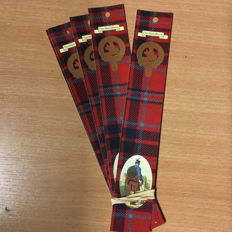 MacGillvray Clan Bookmarks 5 Pack