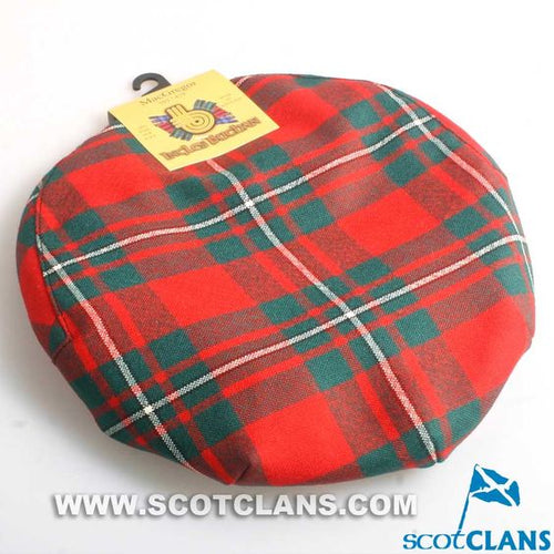 Pure Wool Golf Cap in MacGregor Modern Tartan