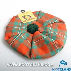 Unisex Wool Tam in MacGregor Ancient Tartan