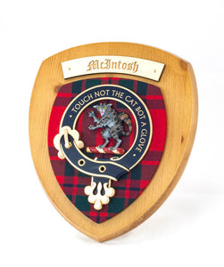MacKintosh Clan Crest Plaque