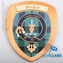 MacKay Clan Crest Plaque