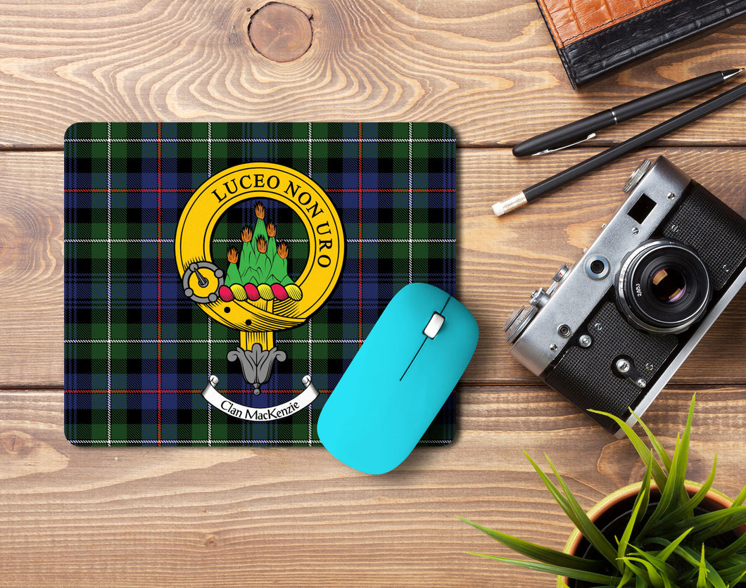 MacKenzie Clan Crest Mouse Pad