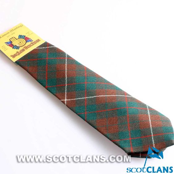 Pure Wool Tie in MacKinnon Hunting Modern Tartan