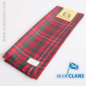 Wool Scarf in MacKinnon Modern Tartan