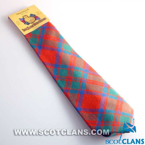 Pure Wool Tie in MacKintosh Ancient Tartan