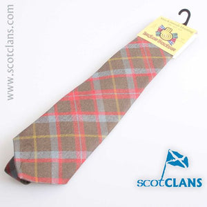 Pure Wool Tie in MacKintosh Hunting Weathered Tartan