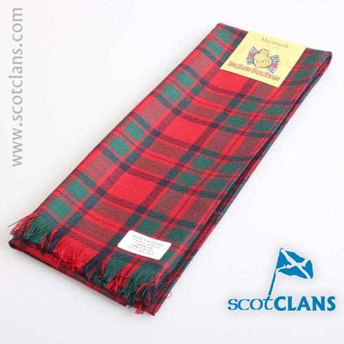 Wool Scarf in MacKintosh Modern Tartan