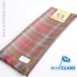 Wool Scarf in MacKintosh Hunting Weathered Tartan