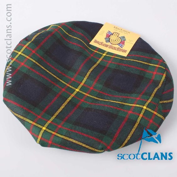 Pure Wool Golf Cap in MacLaren Modern Tartan