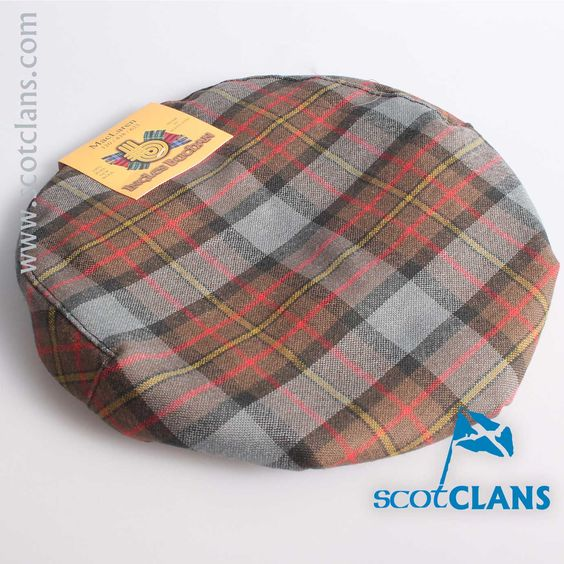 Pure Wool Golf Cap in MacLaren Weathered Tartan