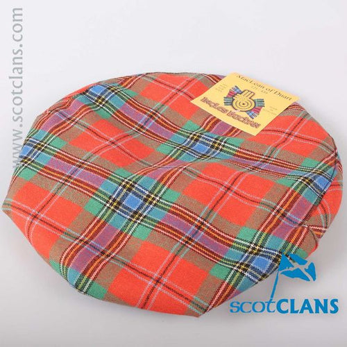 Pure Wool Golf Cap in MacLean Ancient Tartan