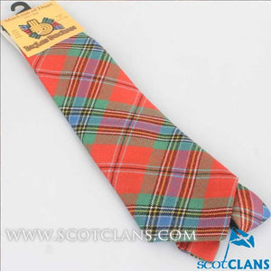 Pure Wool Tie in MacLean Ancient Tartan