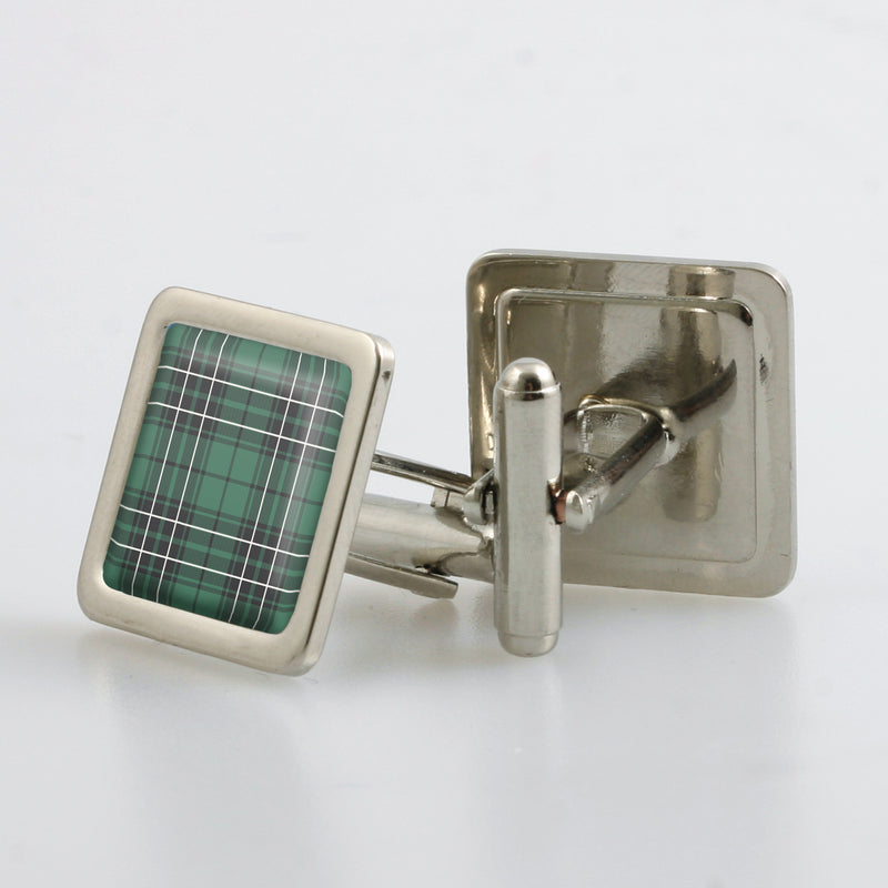 MacLean Hunting Ancient Tartan Cufflinks - Choose Your Shape