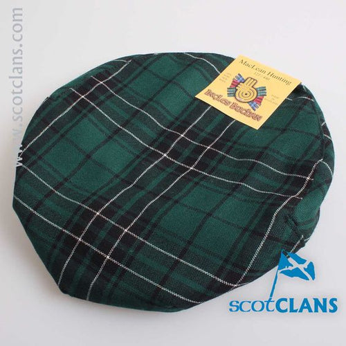 Pure Wool Golf Cap in MacLean Hunting Modern Tartan