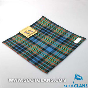 Pocket Square in MacLellan Ancient Tartan