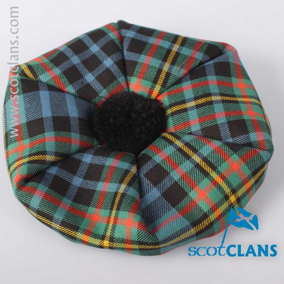 Luxury Unisex Wool Tam in MacLellan Tartan