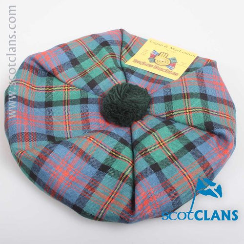 Pure Wool Golf Cap in MacLennan Ancient Tartan