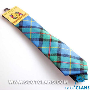 Pure Wool Tie in MacLeod of Harris Ancient Tartan