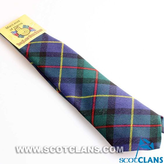 Pure Wool Tie in MacLeod of Harris Modern Tartan