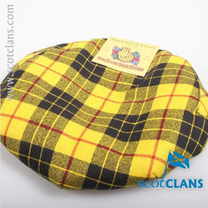 Pure Wool Golf Cap in MacLeod of Lewis Tartan