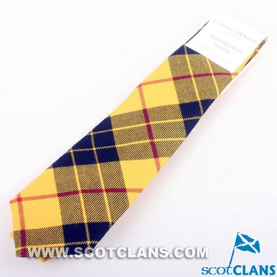 Pure Wool Tie in MacLeod of Lewis Tartan