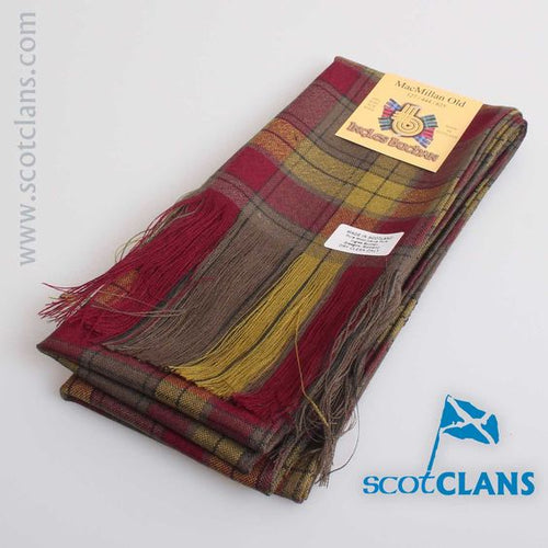 Wool Tartan Full Length MacMillan Old Weathered Tartan