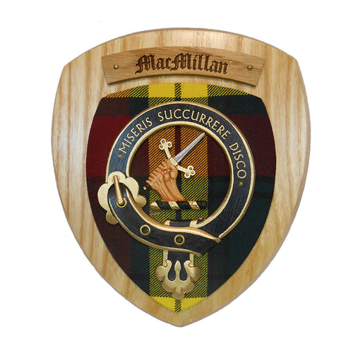 MacMillan Clan Crest Plaque