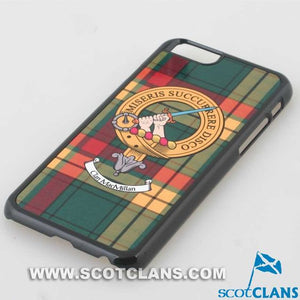MacMillan Tartan and Clan Crest iPhone Rubber Case - 4 - 7