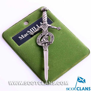 Clan Crest Pewter Kilt Pin with MacMillan Crest