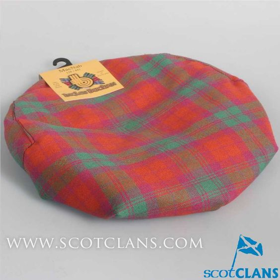 Pure Wool Golf Cap in MacNab Ancient Tartan