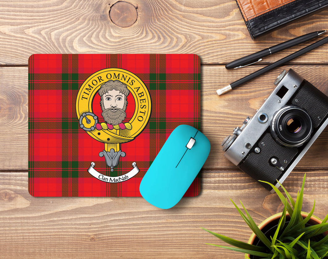 MacNab Clan Crest Mouse Pad