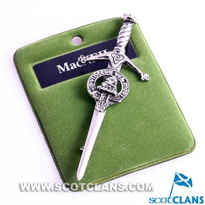 Clan Crest Pewter Kilt Pin with MacNeil Crest