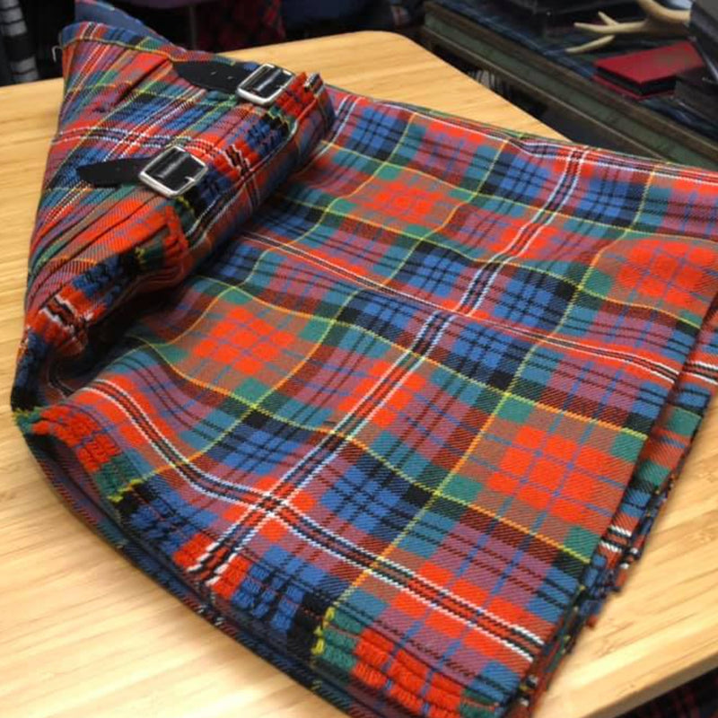 Macpherson Ancient Heavyweight Hand Stitched Kilt