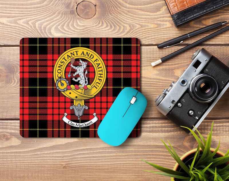 MacQueen Clan Crest Mouse Pad