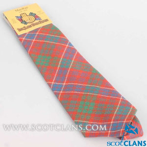 Pure Wool Tie in MacRae Ancient Tartan