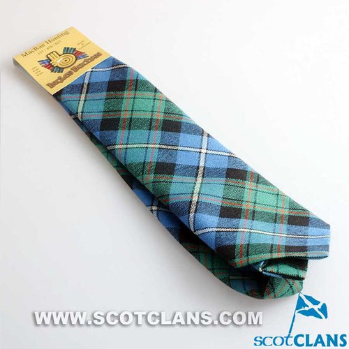 Pure Wool Tie in MacRae Hunting Ancient Tartan