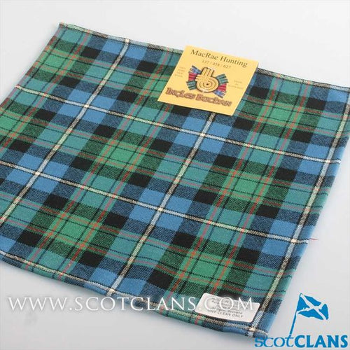 Pocket Square in MacRae Hunting Ancient Tartan