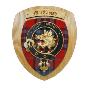 MacTavish Clan Crest Plaque