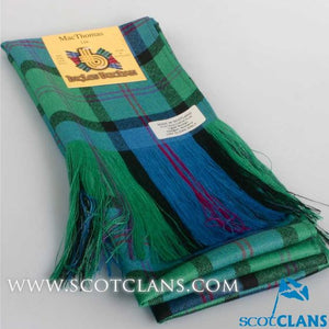 Wool Full Length Sash in MacThomas Ancient Tartan