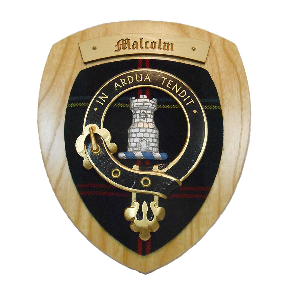 Malcolm Clan Crest Plaque