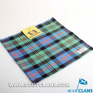 Pocket Square in Malcolm Ancient Tartan
