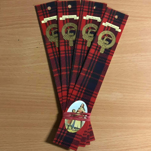 Matheson Clan Bookmarks 5 Pack