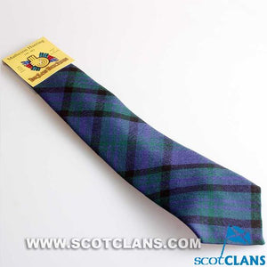 Pure Wool Tie in Matheson Hunting Modern Tartan
