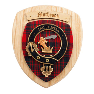 Matheson Clan Crest Plaque