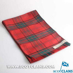 Luxury Lightweight Scarf in Maxwell Tartan
