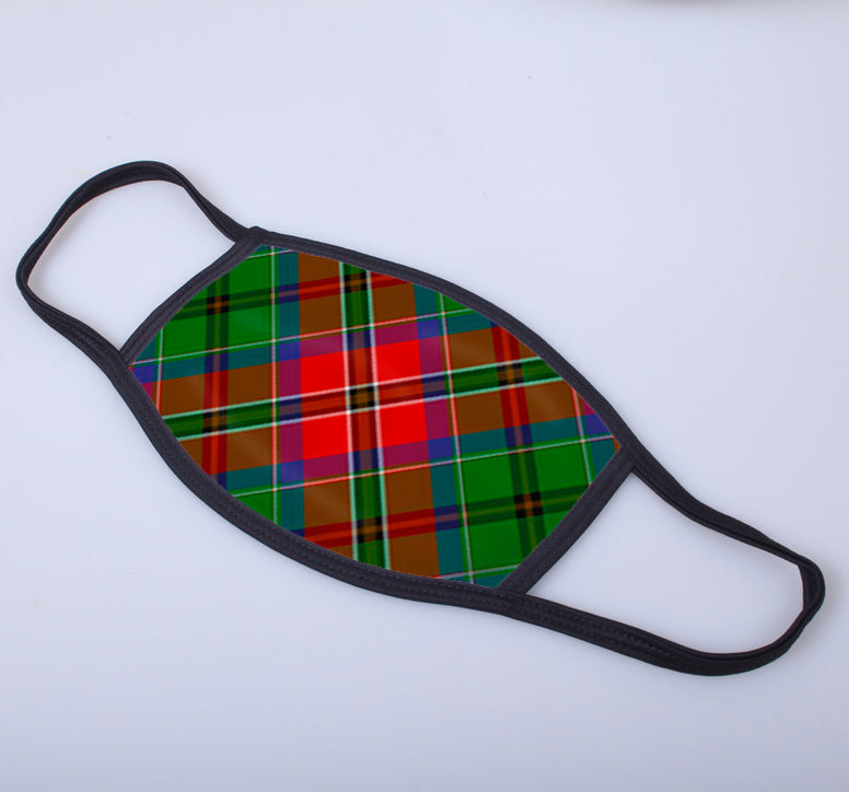 McCulloch Tartan Printed Face Mask