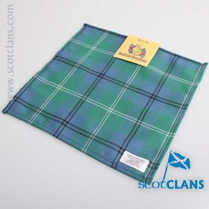 Pocket Square in Melville Ancient Tartan