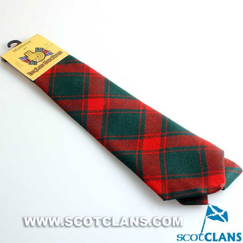 Pure Wool Tie in Middleton Modern Tartan