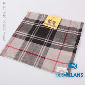Pocket Square in Moffat Ancient Tartan