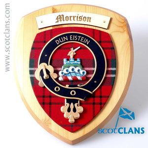 Morrison Clan Crest Plaque